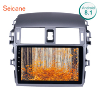 Seicane Android 6.0/7.1/8.1 9 2Din Car Radio For 2007 2008 2009 2010 Toyota OLD Corolla Multimedia Player GPS Navi Head Unit