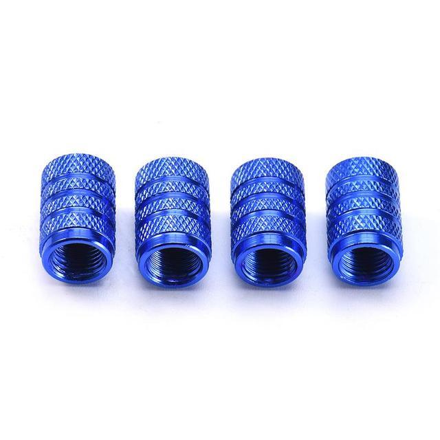 Professional 4pcs Aluminium Alloy Tire Caps Aluminium Alloy Air Valve Caps Four Pieces Motorcycle Parts Valve Caps