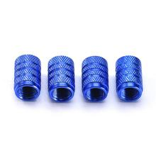 Tapas de neumáticos de aleación de aluminio, tapas de válvula de aire de aleación de aluminio, 4 Uds.