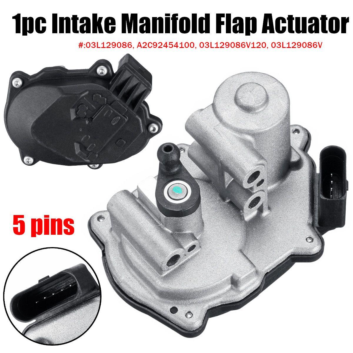 Intake Manifold Flap Actuator 03L129086 A2C92454100 03L129086V120 for VW Golf for AUDI A4 A5 A6 Q5 TT 2.0 TDI