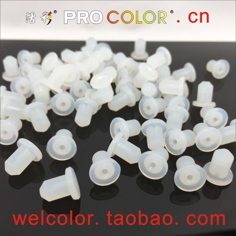 "Factory Custom Made Mushroom Silicone Anti Vibration Rubber Plug Bumper Rubber Water Stopper 6.5mm 7mm 6.5 7 7.0 1/4"" 17/64"" Mm"
