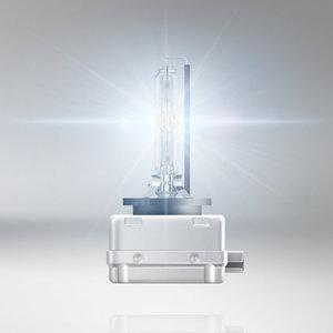 Image 3 - OSRAM D1S 35W 66140XNL קסנון לילה מפסק לייזר רכב HID אור אוטומטי פנס מנורות + 200% יותר בהיר ECE לייזר מראה, זוג