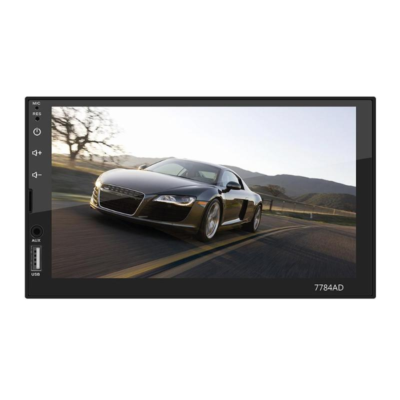 VODOOL 7784AD 2 Din 7 Touch Screen Car MP5 Player Android 7.1 Bluetooth WiFi GPS Navi Radio Media Player With Map Backup CameraVODOOL 7784AD 2 Din 7 Touch Screen Car MP5 Player Android 7.1 Bluetooth WiFi GPS Navi Radio Media Player With Map Backup Camera