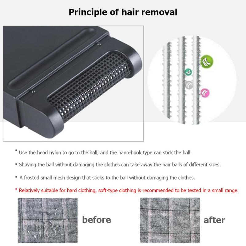 Manual Clothes Lint Remover to Remove Hair Ball and Fuzz for Sweaters Curtain and Carpets 4