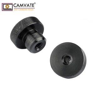 """Image 3 - Camvate 1/4 """" 20 Female Naar 5/8"""" 27 Mannelijke Microfoon Schroef 2 Stuks C1959"""