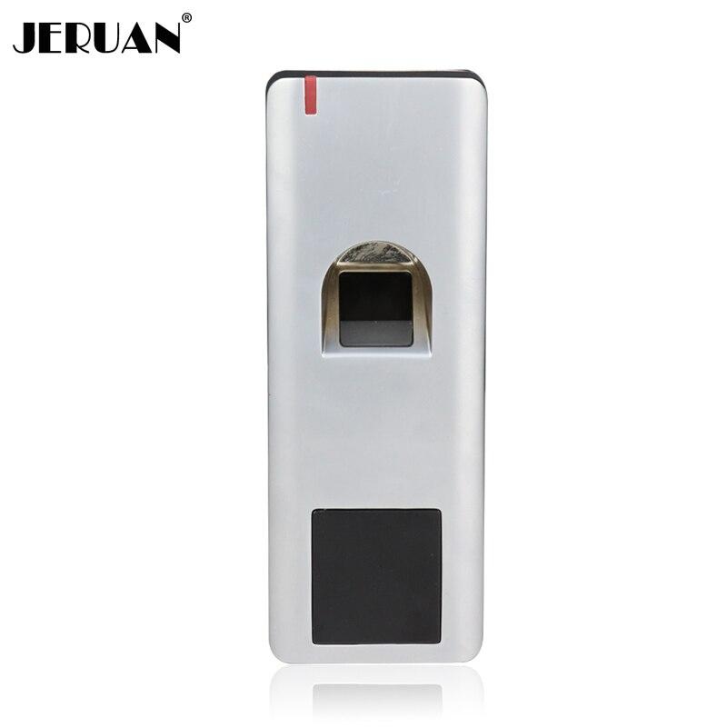 JEX 1000 utilisateurs métal biométrie système de contrôle d'accès d'empreintes digitales 2000 utilisateurs lecteur RFID contrôle d'accès de porte IP66 livraison gratuite