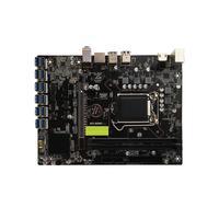 VKTECH B250 BTC Mainboard LGA1151 CPU 2xDDR4 Memory 12xUSB3.0 SATA3 HDMI Desktop Computer Motherboard Support 12 Graphics Cards