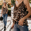 New Fashion Sexy Womens Summer Camis Tops Lace Leopard Patchwork Female Crop Top Tank Tops Uncategorized Fashion & Designs Women's Fashion