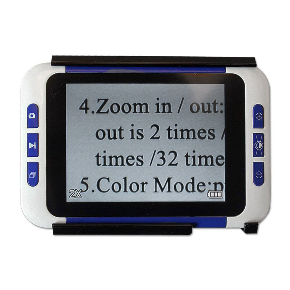3.5 inch Handheld Portable Video Digital Magnifier Electronic Reading Aid with Multiple Color Modes3.5 inch Handheld Portable Video Digital Magnifier Electronic Reading Aid with Multiple Color Modes