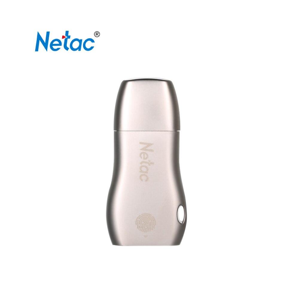 Lecteur Flash Netac U628 USB3.0 lecteur Flash USB haute vitesse 32 GB 64 GB lecteur Flash Portable chiffrement d'empreintes digitales