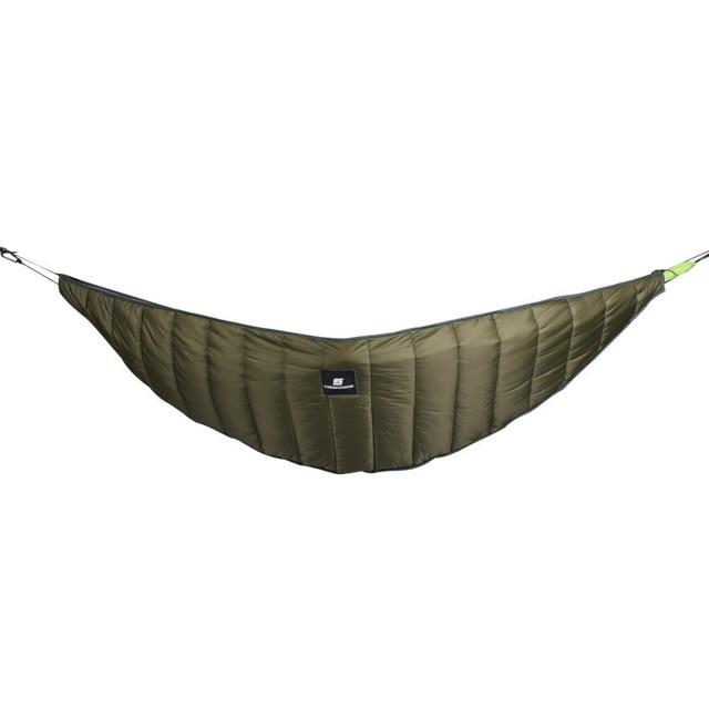 Ultralight Outdoor Camping Hammock Underquilt Full Length Winter Warm Under Quilt Blanket Cotton Hammock 0 Degree (32) F