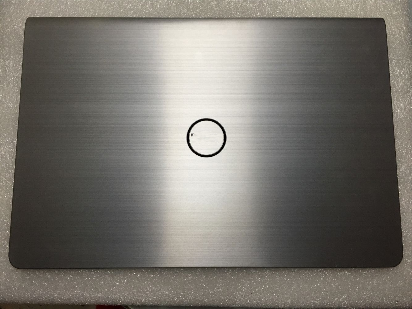"""Free shipping New for Dell Inspiron 15 5547 series 15.6"""" Original Silver LCD Back Cover Top Case 3VXXW 03VXXW with hinges"""