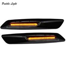 цена на 2x18smd Led Side Marker Light for Bmw E90 E91 E92 E93 E60 E61 325i 328i 335i 525i 528i 530i 535i LED Turn Signal Lamp Indicators
