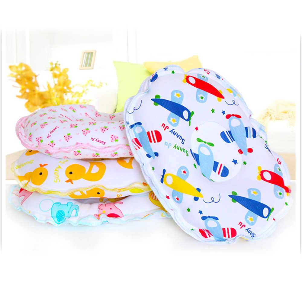 หมอนทารก Unisex ทารกแรกเกิดผ้าฝ้าย Flat Head หมอนทำให้ Babys รอบป้องกัน Plagiocephaly Flat Head Syndrome