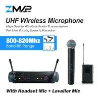 Zmvp PGX14 PGX24 UHF профессиональный Беспроводной микрофон с BETA58 ручной PGX нательный передатчик гарнитура петличный микрофон