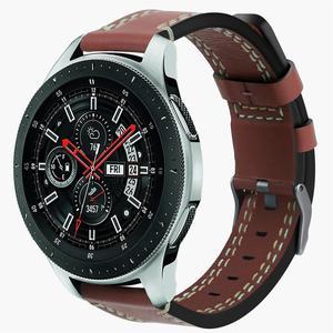 Image 4 - シリコーンソフト交換手首のブレスレットバンド革時計バンドサムスンギャラクシー腕時計 46 ミリメートル SM R800 バージョン
