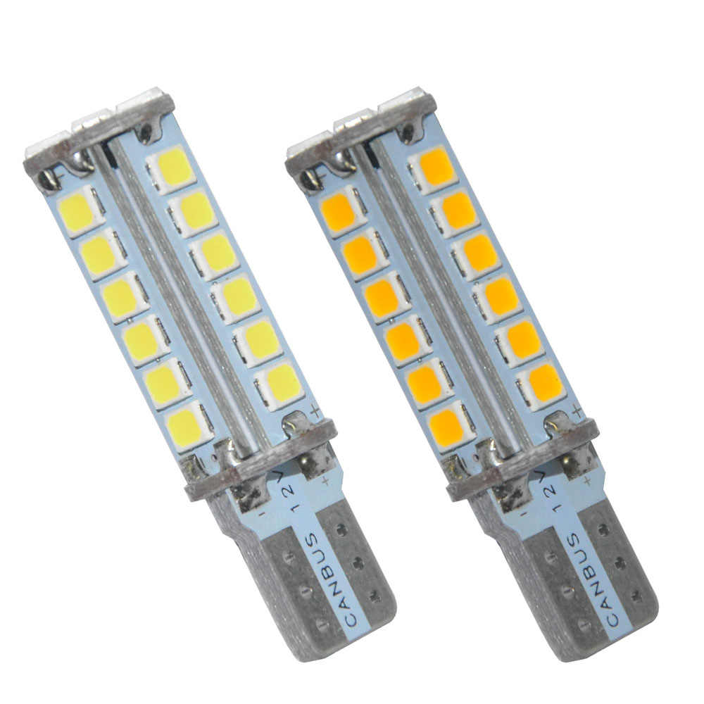 1PCS T10 Canbus LED signal lamp 194 W5W 28 SMD 2835 LED Car Auto LED  Light Bulb No Error LED Light