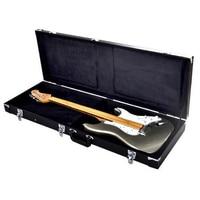 Electric Guitar Square Case Hard Shell Shell Portable Guitar Storage Box (Black)