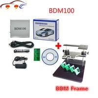 Newest BDM 100 ECU BDM 1255 Programmer BDM100 CDM1255 + BDM FRAME with Adapters Set fit for BDM100 programmer/ CMD, bdm frame