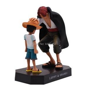 Image 2 - Anime di Un Pezzo Quattro Imperatori Shanks Rufy Cappello di Paglia PVC Action Figure Going Merry Bambola Da Collezione Model Toy Regalo Di Natale