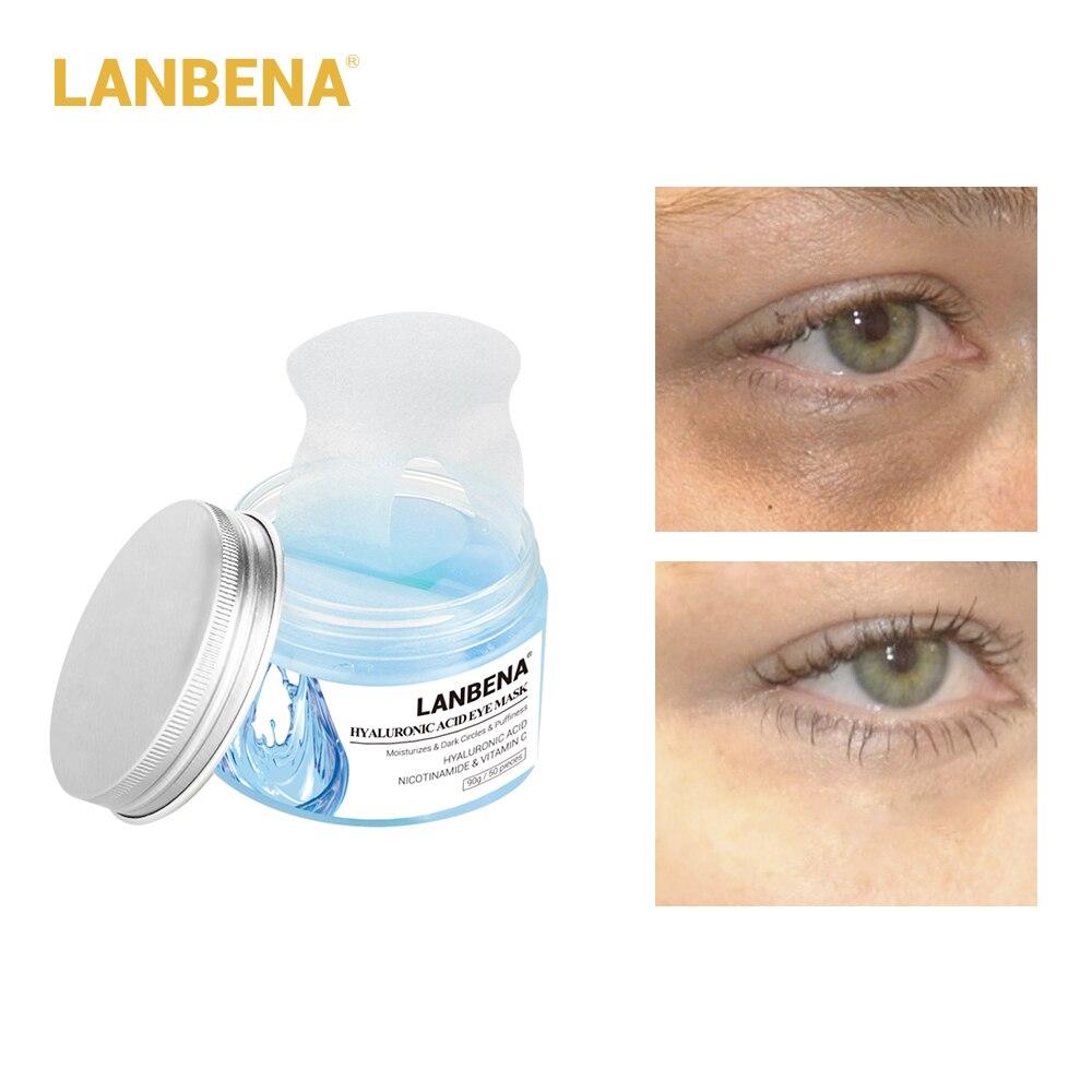 LANBENA Eye Patches Natural Gel Collagen Anti-aging Wrinkle Dark Circles Eye Mask Skin CareLANBENA Eye Patches Natural Gel Collagen Anti-aging Wrinkle Dark Circles Eye Mask Skin Care