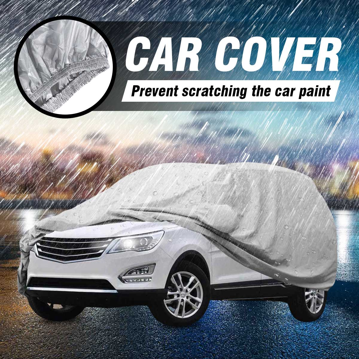 Rain X  FULL-SIZE SUV COVER XL  7years  contains 1