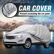Car Cover L/XL Size SUV Full Car Covers Snow Ice Sun Rain Resistant Protection Waterproof Dustproof Outdoor Indoor(China)