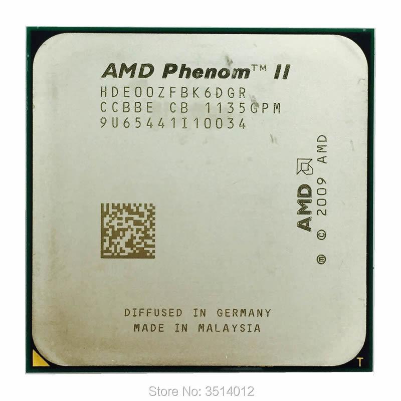 AMD Phenom II X6 1100T 3 3 GHz Six Core Twelve Core CPU Processor HDE00ZFBK6DGR Socket