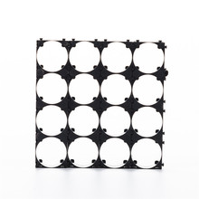 400pcs 21700 Battery Cell Holder Safety Spacer Radiating Shell Storage Bracket Suitable For 4x 21700 battery