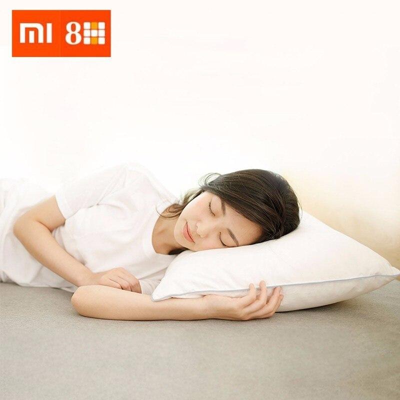 Xiaomi 8 H 95% oreiller en duvet d'oie blanche oreiller confortable à trois cavités
