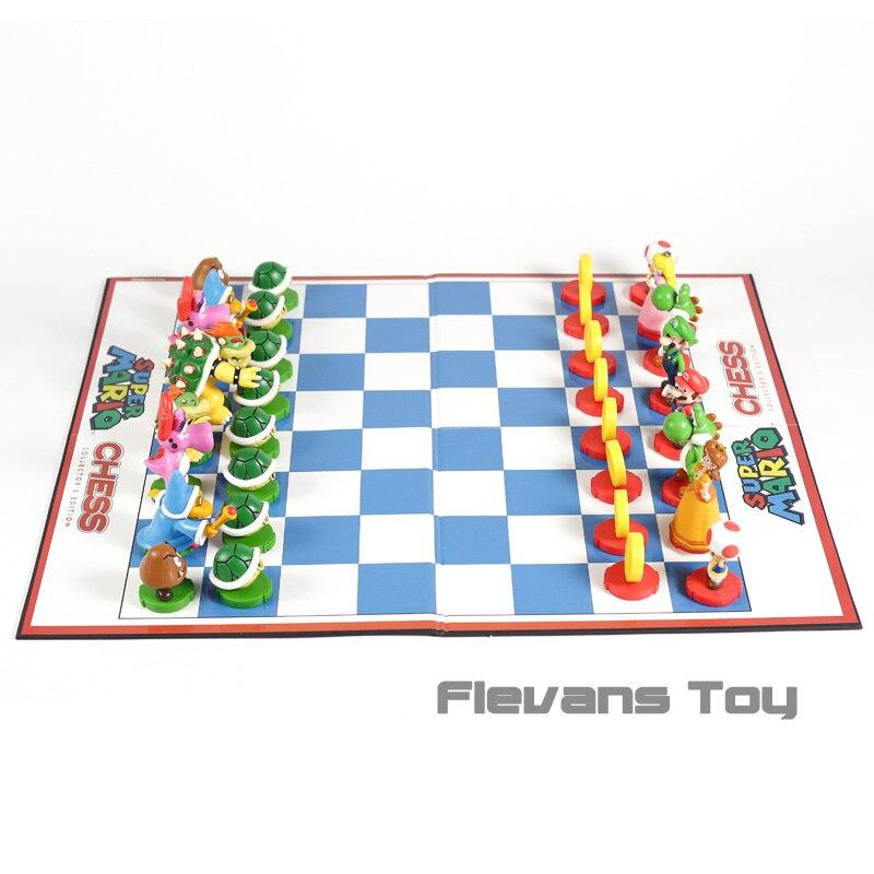 Jeu de figurines en PVC avec motif de pêche Mario Luigi, édition Collector, échecs, frères Mario