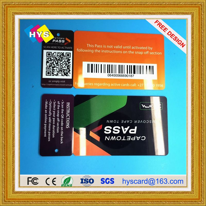 RFID Die Cut Card ,Combo  Card For Supermarket Loyalty Program ,3 Up Or 2 In One Combo Key Card  For Loyalty Business