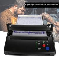 Lighter Tattoo Transfer Machine Printer Drawing Thermal Stencil Maker Copier for Tattoo Transfer Paper Supply permanet makeup 5