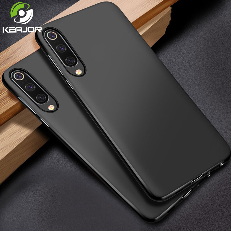 KEAJOR Soft Case For Xiaomi <font><b>Mi</b></font> <font><b>9</b></font> <font><b>SE</b></font> Case Silicone Matte Soft TPU Case for Xiaomi Mi9 <font><b>SE</b></font> Case on <font><b>Mi</b></font> <font><b>9</b></font> M9 Smart Phone Armor Bumper image