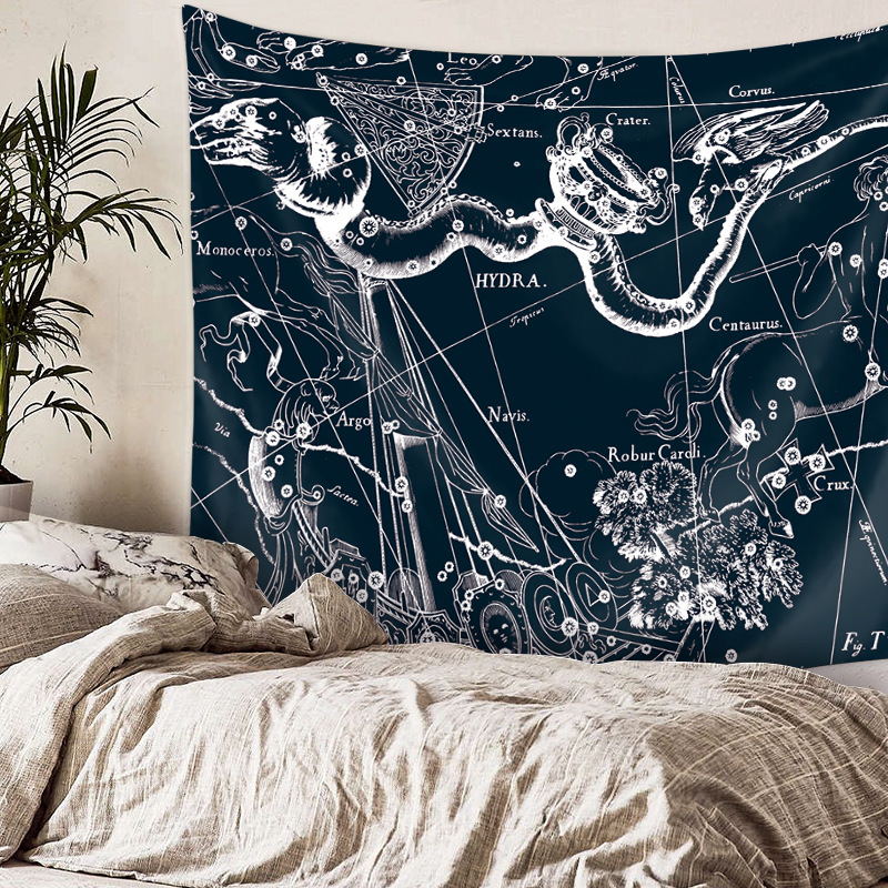 Wall Hanging Tapestry Constellation Astrology Wall Cloth