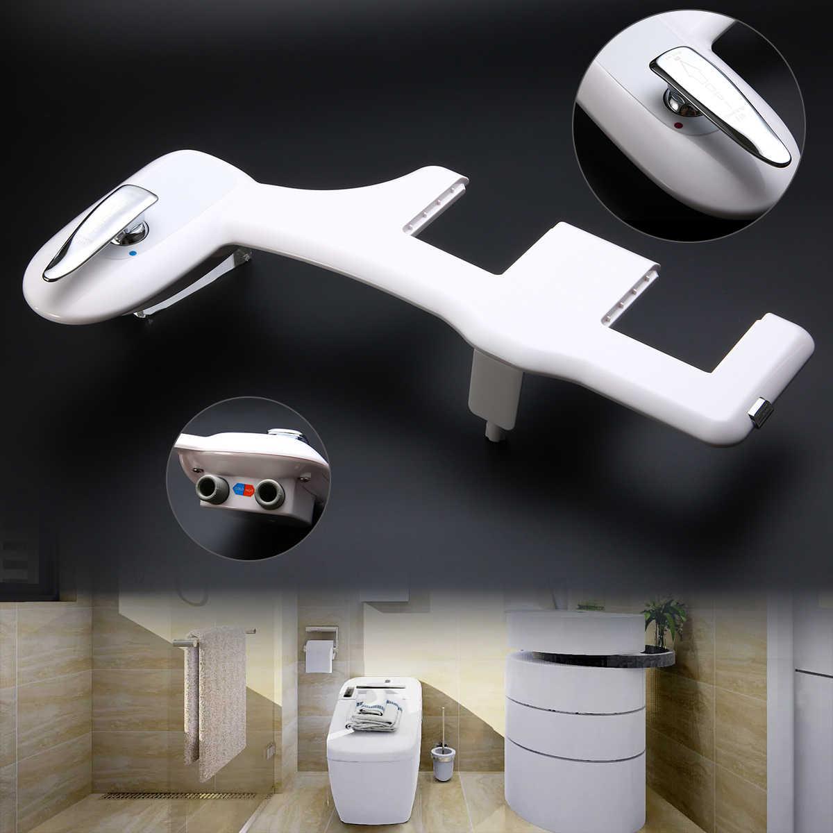 Неэлектрическая горячая и холодная вода биде, туалетное сиденье насадка Mayitr ванная пистолет для мойки самоочистка Noozle Горячая продажа