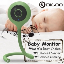 Digoo 2,1 мм DG-QB0 720P беспроводная wifi умная домашняя ip-камера монитор для малышей уход за детьми удобный Три цвета Мини Гибкий