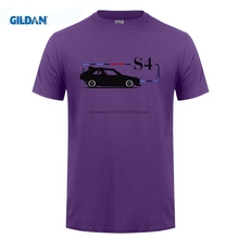 GILDAN  Men Round Neck Short Sleeve T-Shirt Stylish S4 Rally Car Retro 80S Italian Supercar Print T Shirt Men
