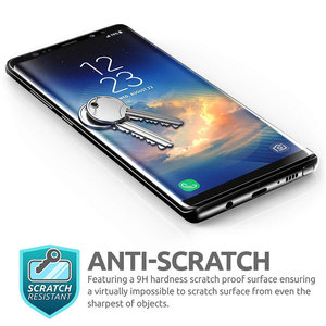 Image 5 - For Samsung Galaxy Note 9 SUPCASE Anti Scratch Premium 3D Curved Edge Anti Impact Tempered Glass Screen Protector,1PC in a Pack