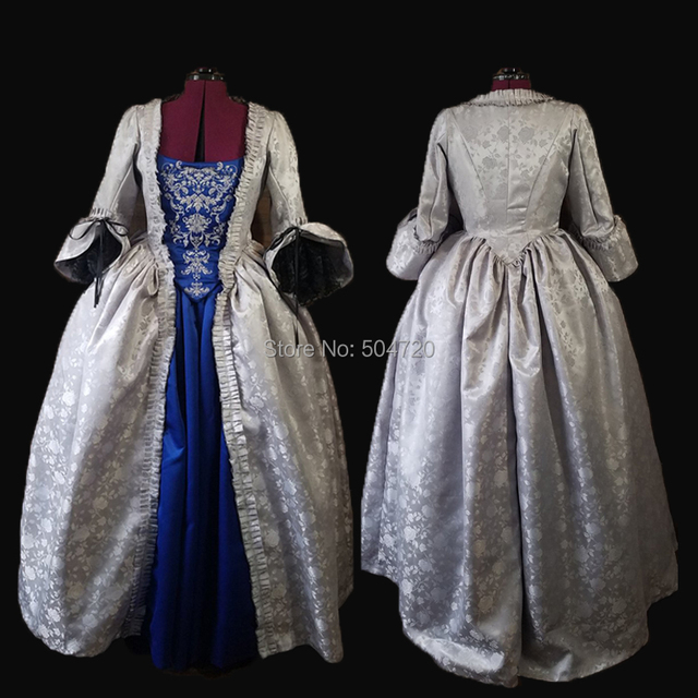 adf0a35133a43 US $165.44 12% OFF|Tailored!NEW Royal 18 Century French Duchess Retro  medieval Renaissance Reenactment Theatre Civil war Victorian dress HL  354-in ...