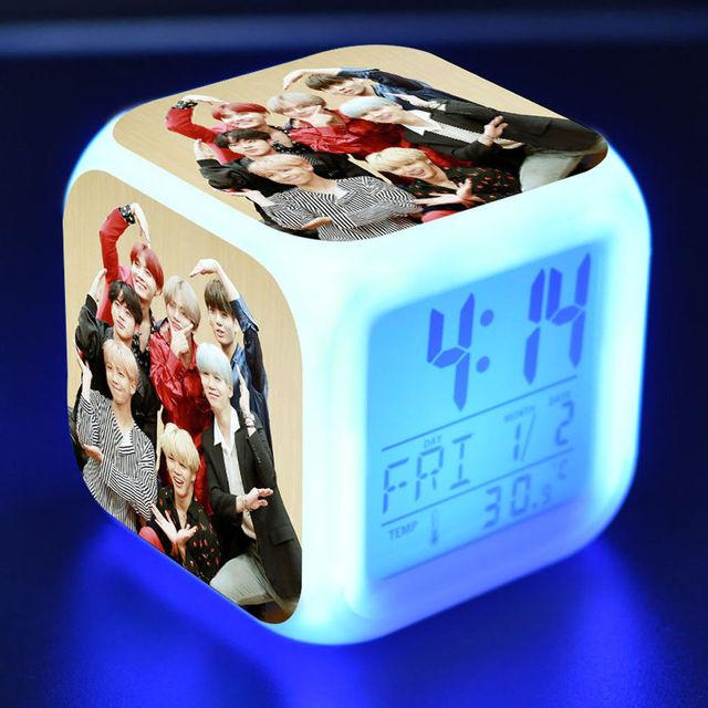 Cubic Digital Alarm Clock Night Light 5
