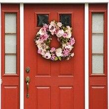 16Inch Hoa Giả Vòng Hoa Cửa Hoàn Hảo Nhân Tạo Vòng Hoa Cho Trang Trí Đám Cưới Nhà Trang Trí Tiệc