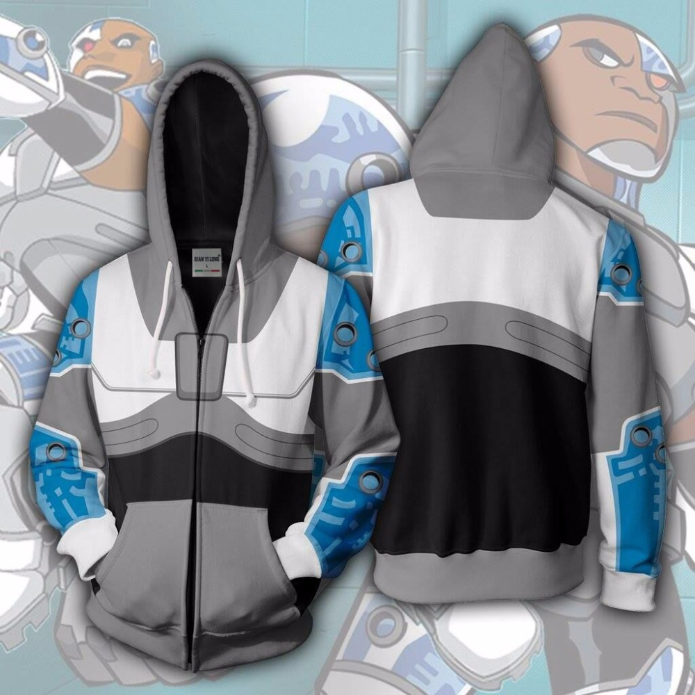 Teen Titans Go Cyborg Adult Costume