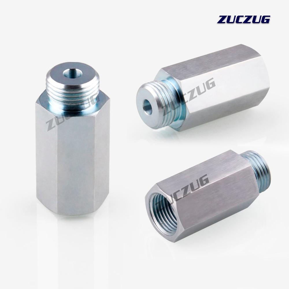 ZUCZUG M18x1.5 Lambda Oxygen Sensor Bung Adapter Extender Spacer Joints Converter