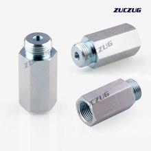 ZUCZUG-capteur d'oxygène Lambda, capteur d'oxygène, adaptateur de branchement, connecteur d'espacement, M18x1.5