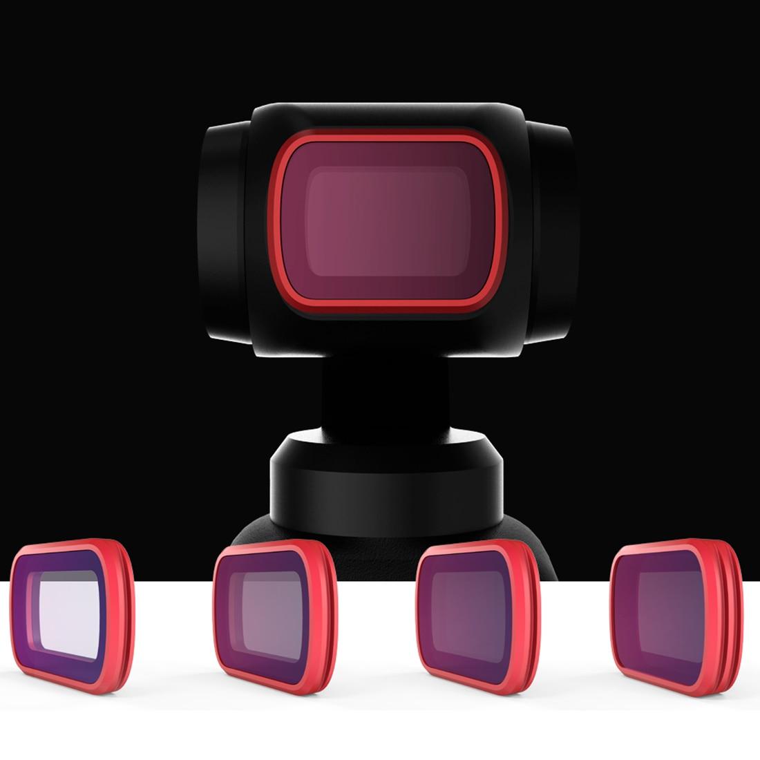 PGYTECH предзаказ продаж 4 шт Профессиональная версия набор фильтров с ND8/PL ND16/PL ND32/PL ND64/PL фильтр для DJI Осмо карман