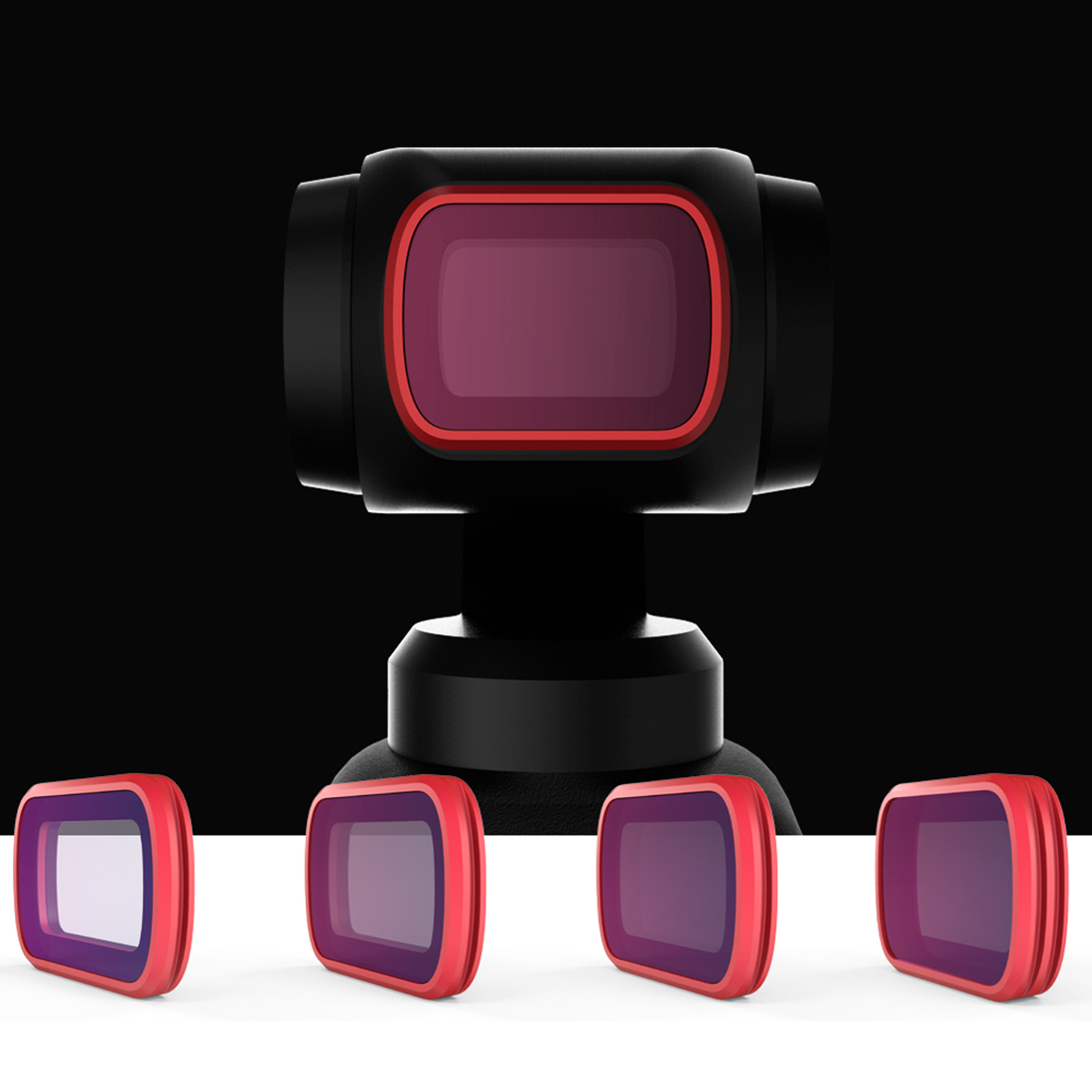 PGYTECH Preorder Sales 4Pcs Professional Version Filter Set with ND8/PL ND16/PL ND32/PL ND64/PL for DJI OSMO Pocket