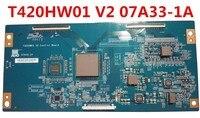 Original T CON T420HW01 V2 Control BOARD 07A33 1A Logic board good quality