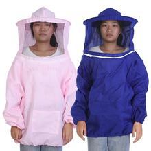 Профессиональная куртка для пчеловодства, костюм для пчеловодства, принадлежности для кормления насекомых, оборудование для защиты пчеловода, удобное хлопковое пальто