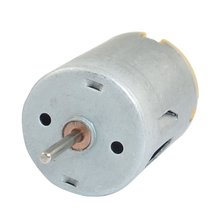 8000RPM 9V 68mA High Torque Magnetic Cylindrical Mini DC Motor Silver